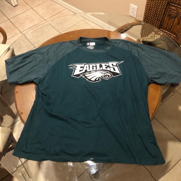 huge discount e570c cccbe Philadelphia eagles shirt embroidered logo